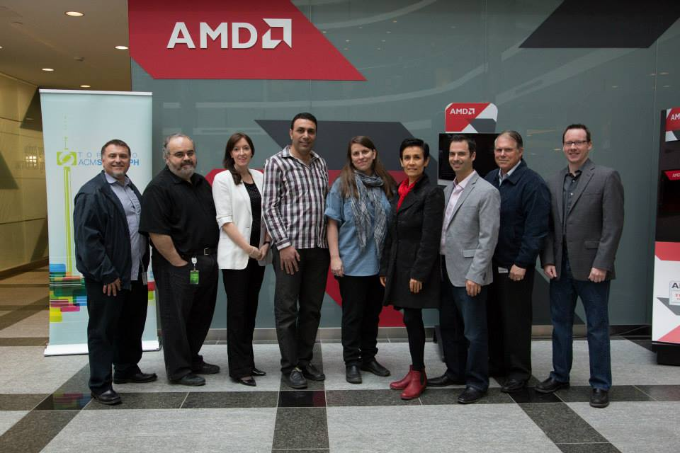 Toronto ACM SIGGRAPH and TorCHI at AMD with Michael Macedonia