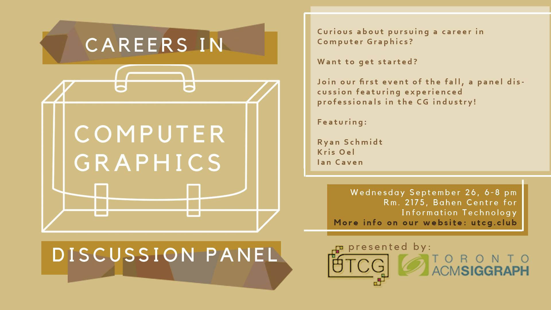 Careers in CG Banner TV